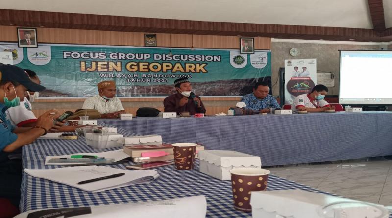FGD terkait pengembangan Ijen Geopark
