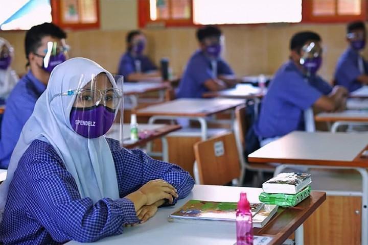Pesan Jokowi terkait sekolah tatap muka